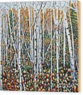 Poplar Art Wood Print