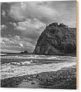 Popolu Beach Hawaii 4 Wood Print