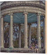 Popps Bandstand In City Park Nola Wood Print