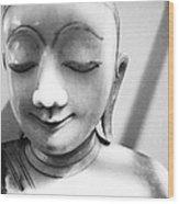 Porcelain Statuette Wood Print