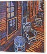 Porch  Wood Print