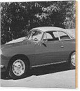 Porsche 356 Hardtop Wood Print