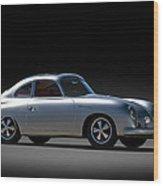 Porsche 356 Outlaw Wood Print
