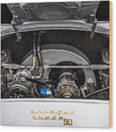 Porsche 356b Super 90 Engine Wood Print