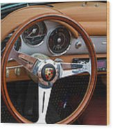 Porsche 356b Super 90 Interior Wood Print