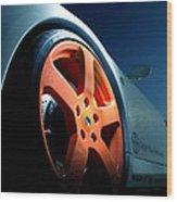 Porsche 5 Wood Print