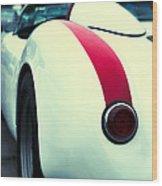 Porsche 550 Wood Print