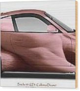 Porsche 911 California Dreamin Wood Print