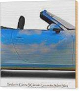 Porsche 911 Elvington Skies Wood Print