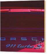 Porsche 911turbo S Wood Print