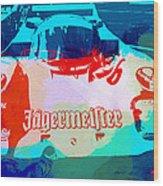 Porsche 956 Jagermeister Wood Print