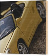 Porsche Car Wood Print