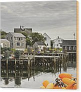 Port Clyde On The Coast Of Maine Wood Print