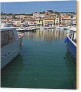Port De Cassis Wood Print