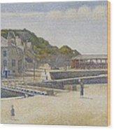 Port En Bessin Wood Print