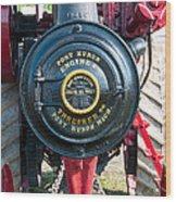 Port Huron Tractor Wood Print