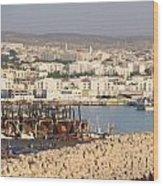 Port Of Agadir Morocco Wood Print