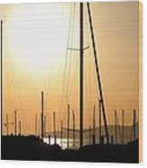 Port Of Call - The Great Salt Lake Wood Print