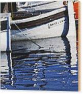 Port Of Cannes Wood Print