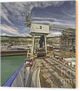 Port Of Dover  Wood Print