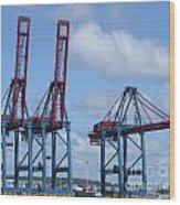 port of Gothenburg Wood Print