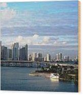 Port Of Miami 3 Wood Print
