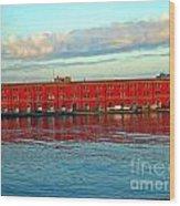 Port Of Naples Wood Print