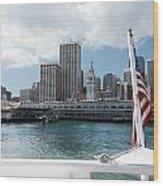 Port Of San Francisco Wood Print