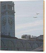 Port Of San Fransisco Wood Print