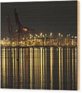 Port Of Vancouver Bc Canada Wood Print
