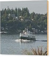 Port Orchard Foot Ferry Wood Print