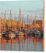Port Vell - Barcelona Wood Print