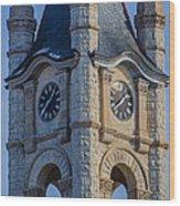 Port Washinton Court House Steeple 1  Wood Print