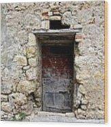 Porta Rossa Wood Print