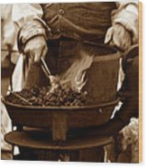 Portable Forge Circa 1800s Wood Print
