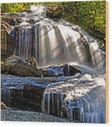 Portal Falls Wood Print
