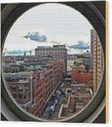 Portal To The City  Wood Print