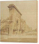 Porte St Denis, Paris Wood Print