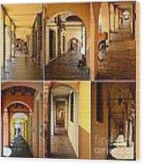Porticos Of Padua No 2 Wood Print