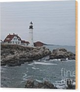 Portland Head Lighthouse 8557 Wood Print