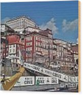 Porto-187 Wood Print