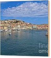 Portoferraio - View From The Sea Wood Print