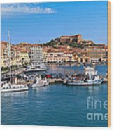 Portoferraio  Wood Print