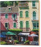 Portofino Wood Print by Michael Swanson