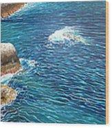 Portofino Sea Wood Print