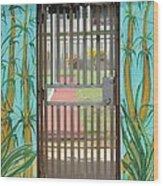 Porton Cerrado Wood Print