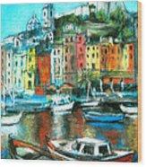 Portovenere Wood Print