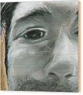 Portrait 10 Wood Print