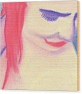 Portrait 12 Wood Print