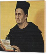 Portrait Of A Benedictine Abbot Wood Print
